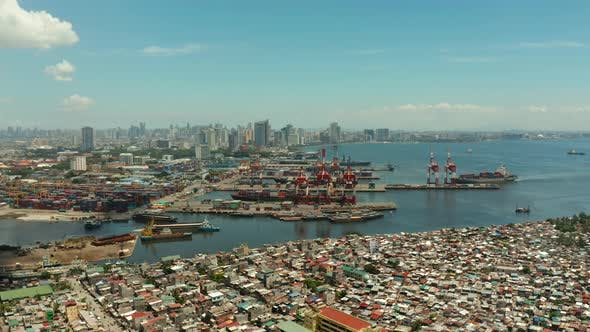 Thumbnail for Manila, the Capital of the Philippines Aerial View
