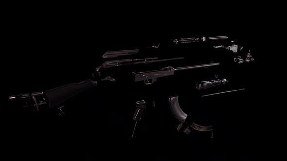 AK 47 Transforming