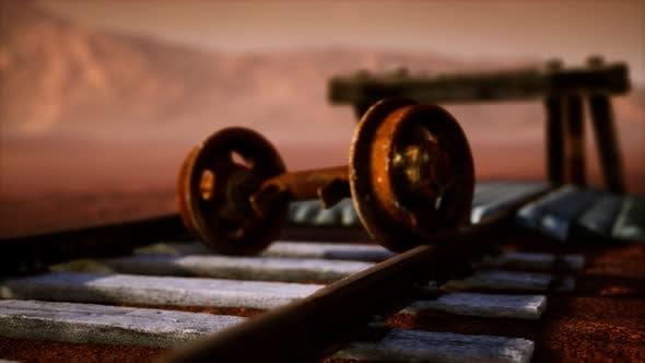 Thumbnail for Abandoned Railway Tracks in the Desert