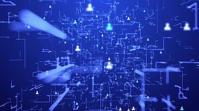 Digital population communication on network - 4K