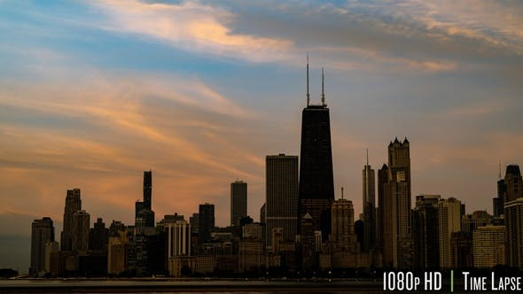 Thumbnail for Chicago Lakefront Sunrise Time-Lapse