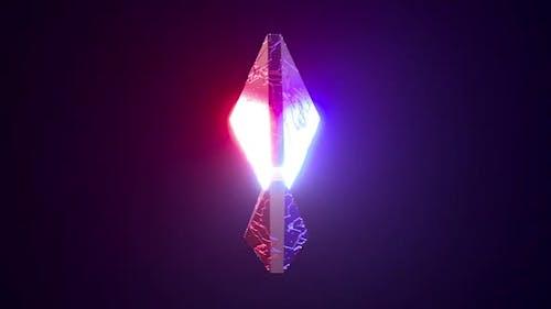 Emblème Ethereum Rotatif