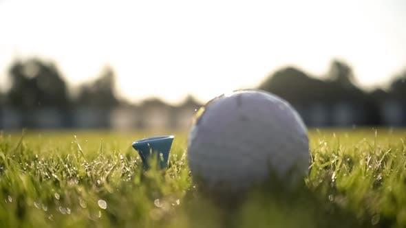 Thumbnail for Unsuccessful Golf Club Hits a Golf Ball