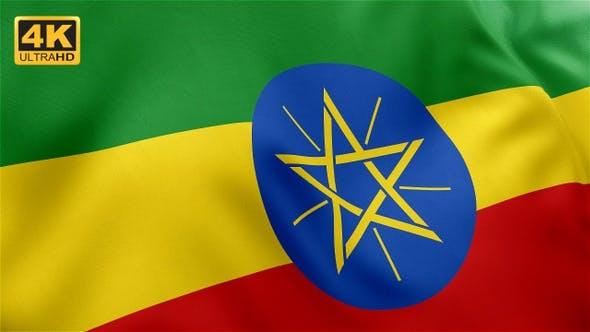 Ethiopia Flag - 4K