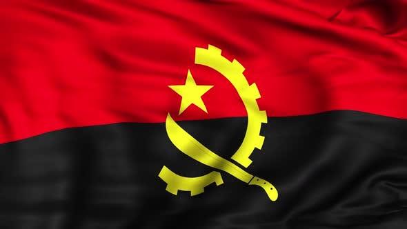 Thumbnail for Angola-Flagge