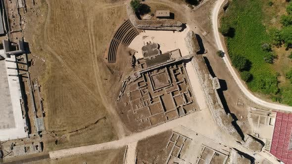 Thumbnail for Roman Ruines Top View