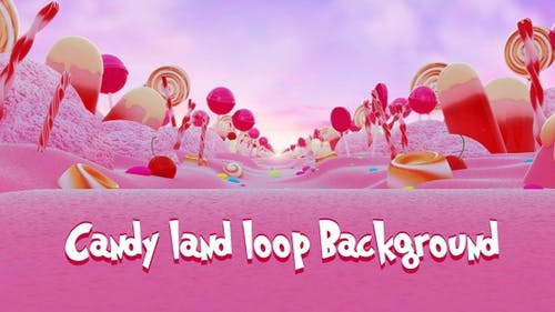 Candy Land Loop  Background 2