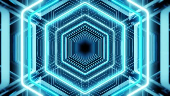 Lighting In Spectrum Honeycomb 02 4K
