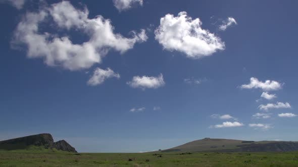 Thumbnail for Time lapse from clouds above the Easter Island
