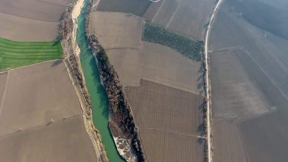 Thumbnail for Irrigation Channel Between the Fields
