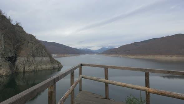 Lake in Romania