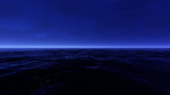 Thumbnail for Sea Night 05 4K