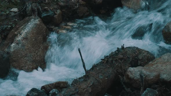 Thumbnail for Fast-flowing Mountain River