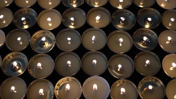 Thumbnail for Candles on a Black Background 72