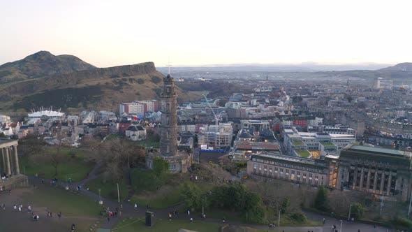 Central Edinburgh Scotland