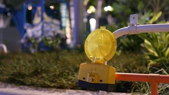 Thumbnail for Yellow warning lamp blinking