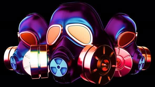 Thumbnail for Gas Mask VJ Loop