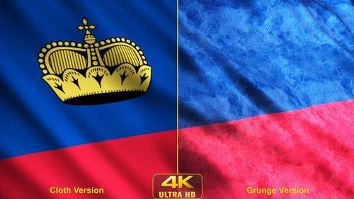 Liechtenstein Flags