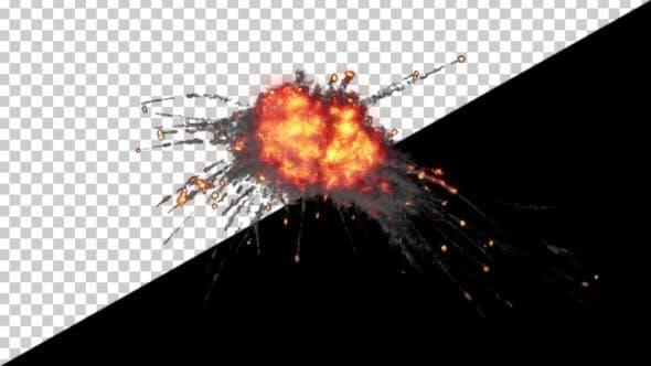 Thumbnail for Shrapnel Explosion Top View