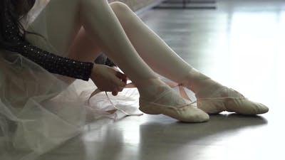 Ballerina Pointe Shoes