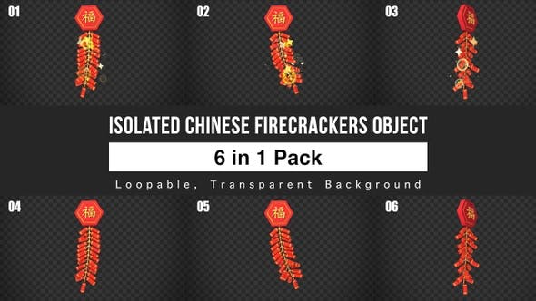 Thumbnail for Chinese Firecrackers Pack