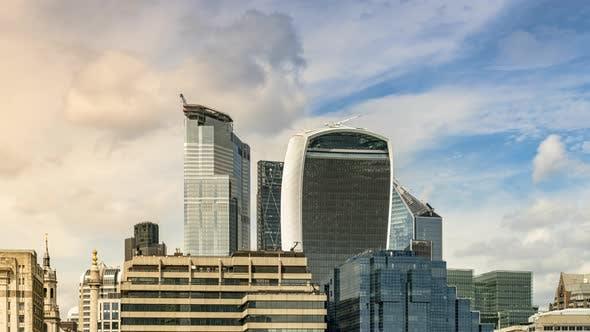 Thumbnail for London Skyline at Sunset