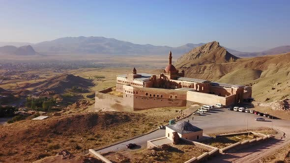 Thumbnail for Agri Dagi, Dogubeyazit, Ishak Pasha Palace, Mount Ararat Steppes, Turkey