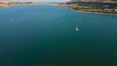 Sailing Bot In The Lake