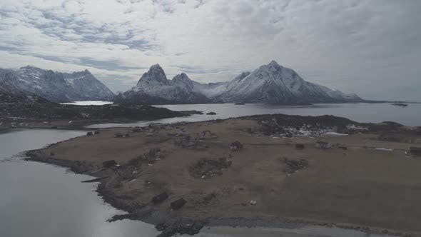 Thumbnail for Nordic Landscape With Mountains