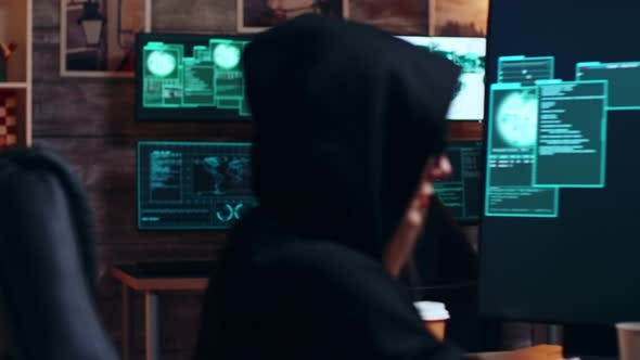 Thumbnail for Zoom in Shot Organized Cyber Criminals