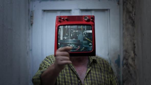 Machine TV Man.