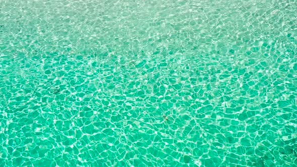 Thumbnail for Transparent Turquoise Sea Water, Natural Background.