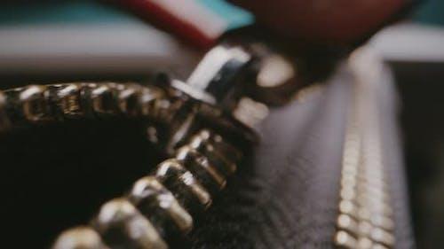 Opening of Zip Fastener
