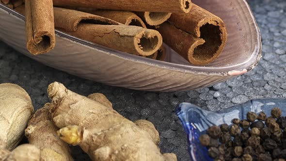 Spices Like Cinnamon Clove And Ginger 2