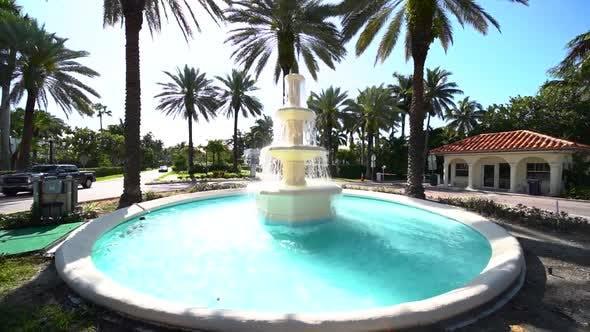 Decorative Outdoor Circular Water Fountain