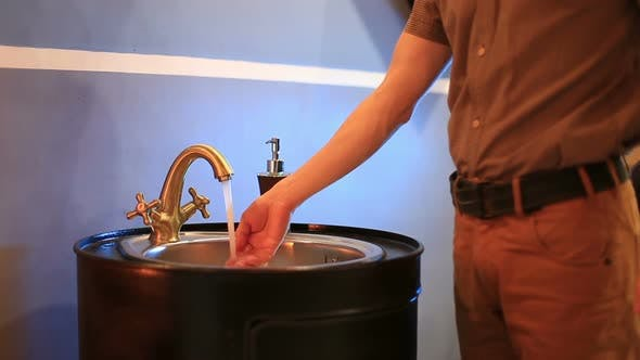 Water Runs from Tap