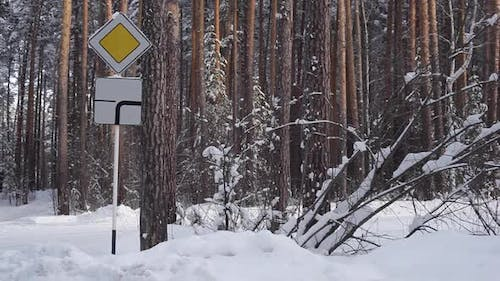 Road Sign a Priority
