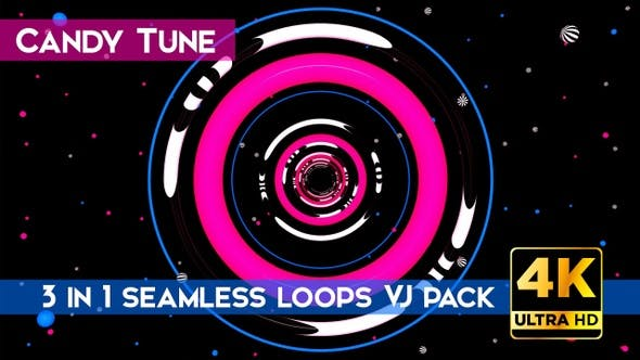 Thumbnail for Candy Tune VJ Loops