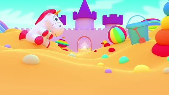 Thumbnail for Kids Background Loop 2