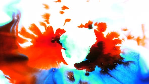 Thumbnail for Abstract Ink Drop And Spread