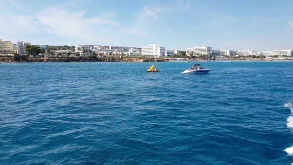 Thumbnail for The Mediterranean Traffic Along Protaras, Cyprus