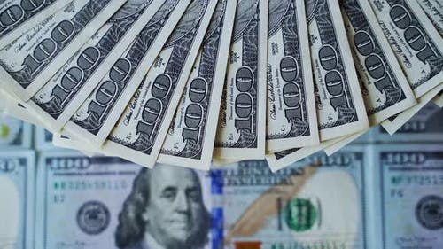 Reichhaltiger Hintergrund von Dollar