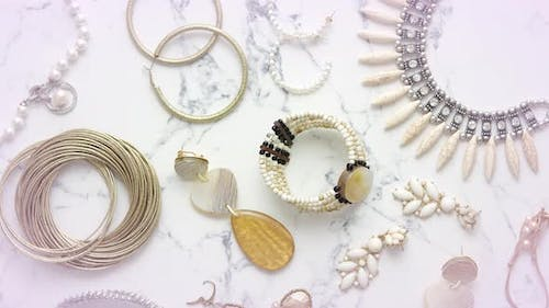 Various Jewelry for a Female