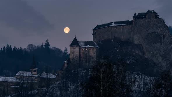 Thumbnail for Full Moon over Dracula Castle