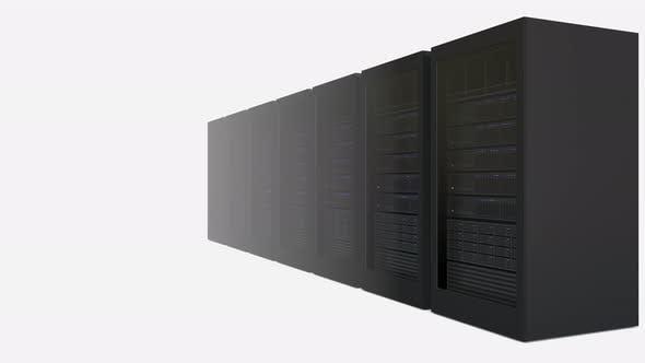 Thumbnail for Zunehmende Anzahl von Server-Racks