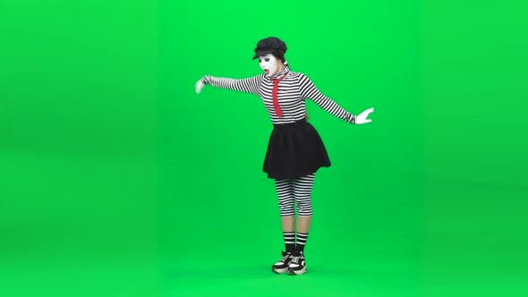 Thumbnail for Mime Girl Sortilege on a Flower