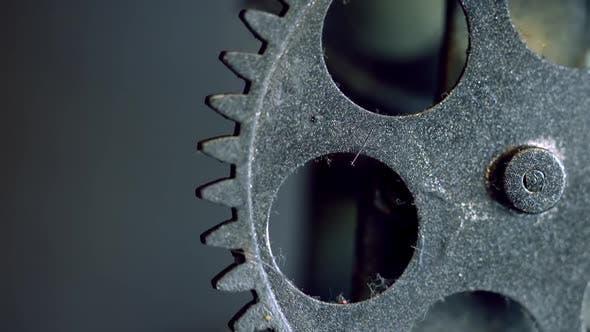 Thumbnail for Retro Rusty Mechaniker Uhrengetriebe 16