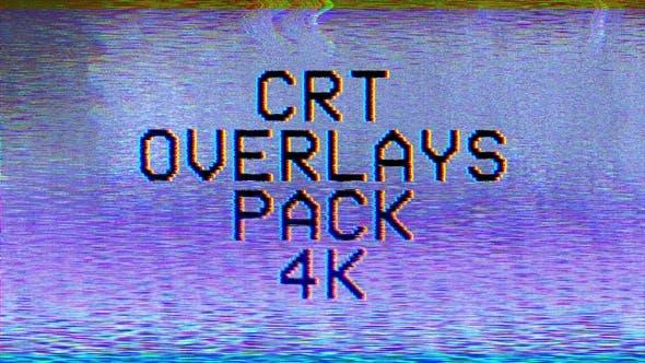 4k CRT Overlays Pack