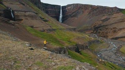 Hengifoss Waterfall Iceland