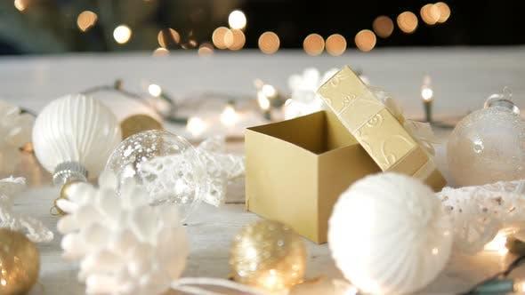 Thumbnail for Open Christmas Gift Box